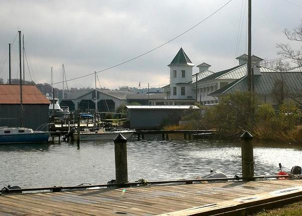 Urbanna, Virginia from the dock