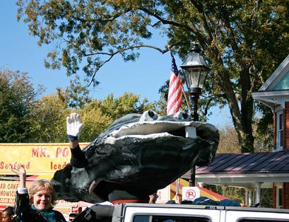 Urbanna Oyster Festival parade, Urbanna, Virginia